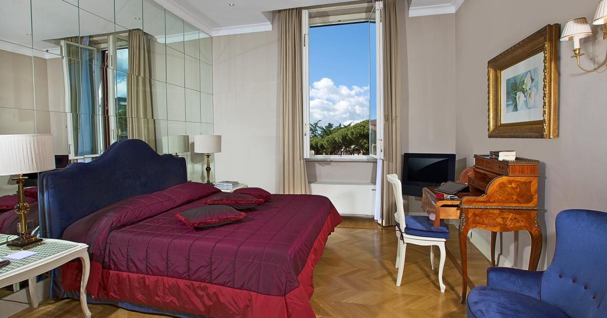 5 star hotel in Rome, Italy, promotions | Aldrovandi Villa ...